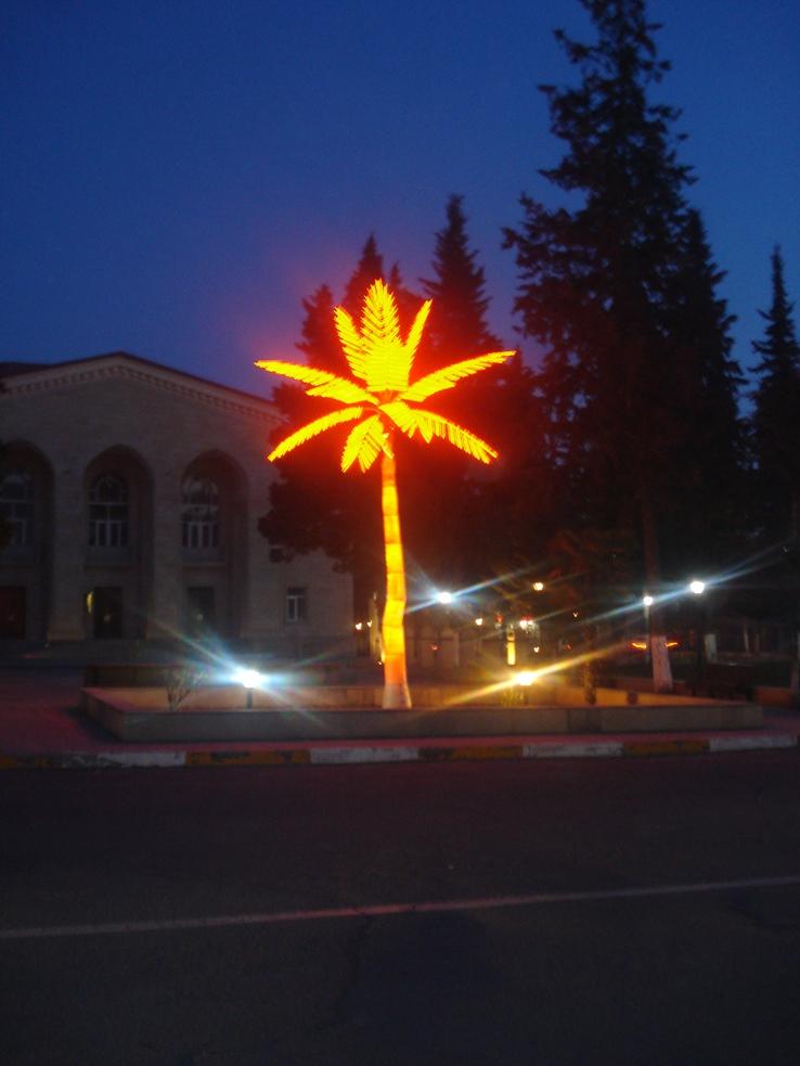 Plastic palma